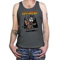 Kiss the Krampus - Tanktop - Tanktop - RIPT Apparel