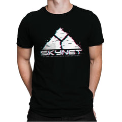 Skyglitch - Mens Premium - T-Shirts - RIPT Apparel