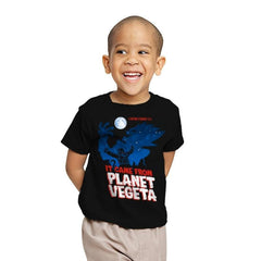It Came From Planet Vegeta Exclusive - Youth - T-Shirts - RIPT Apparel