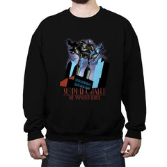 Animated Giant - Crew Neck Sweatshirt - Crew Neck Sweatshirt - RIPT Apparel