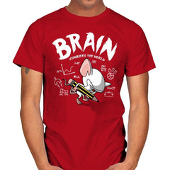 Brain Conquers The World! - Raffitees - Mens - T-Shirts - RIPT Apparel