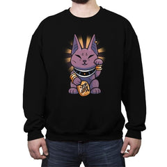 Lucky Beerus - Crew Neck Sweatshirt - Crew Neck Sweatshirt - RIPT Apparel