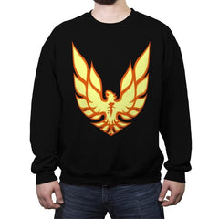 Firebird - Crew Neck Sweatshirt - Crew Neck Sweatshirt - RIPT Apparel