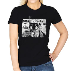 Bounty Hunter Posse - Womens - T-Shirts - RIPT Apparel