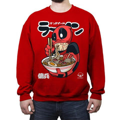 Dead Ramen - Crew Neck Sweatshirt - Crew Neck Sweatshirt - RIPT Apparel