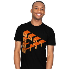 Impossible Blocks - Mens - T-Shirts - RIPT Apparel