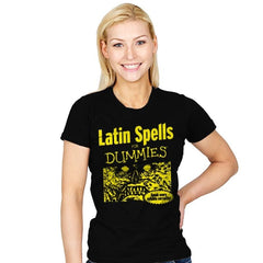 Latin Spells for Dummies - Womens - T-Shirts - RIPT Apparel