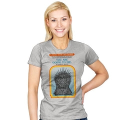 Game of Choices - Womens - T-Shirts - RIPT Apparel