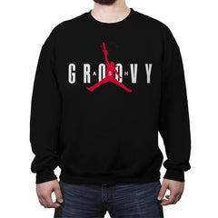 Ash Groovy - Crew Neck Sweatshirt - Crew Neck Sweatshirt - RIPT Apparel