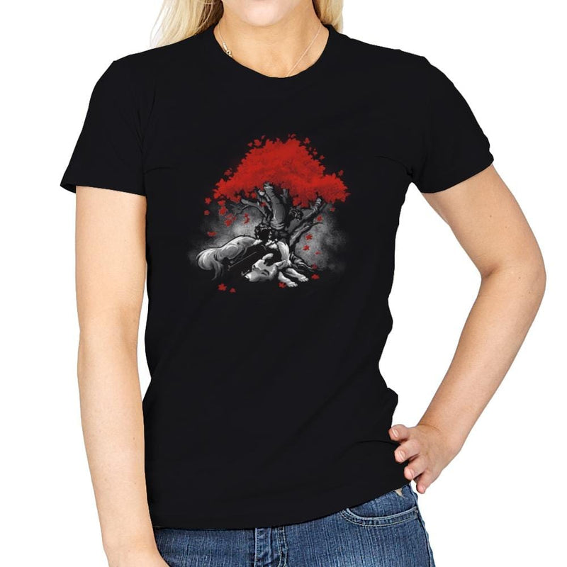 Dreaming Of A Quiet Winter - Miniature Mayhem - Womens - T-Shirts - RIPT Apparel