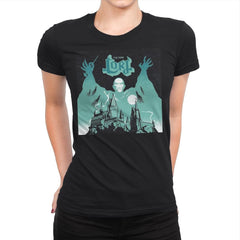The Dark Lord Rock - Womens Premium - T-Shirts - RIPT Apparel