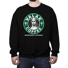 Valak Coffee - Crew Neck Sweatshirt - Crew Neck Sweatshirt - RIPT Apparel