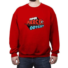 SUPER MERC ODYSSEY - Crew Neck Sweatshirt - Crew Neck Sweatshirt - RIPT Apparel