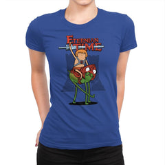 Eternian Time - Womens Premium - T-Shirts - RIPT Apparel