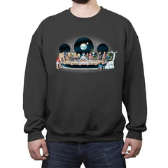 Bad fighters dinner - Crew Neck Sweatshirt - Crew Neck Sweatshirt - RIPT Apparel