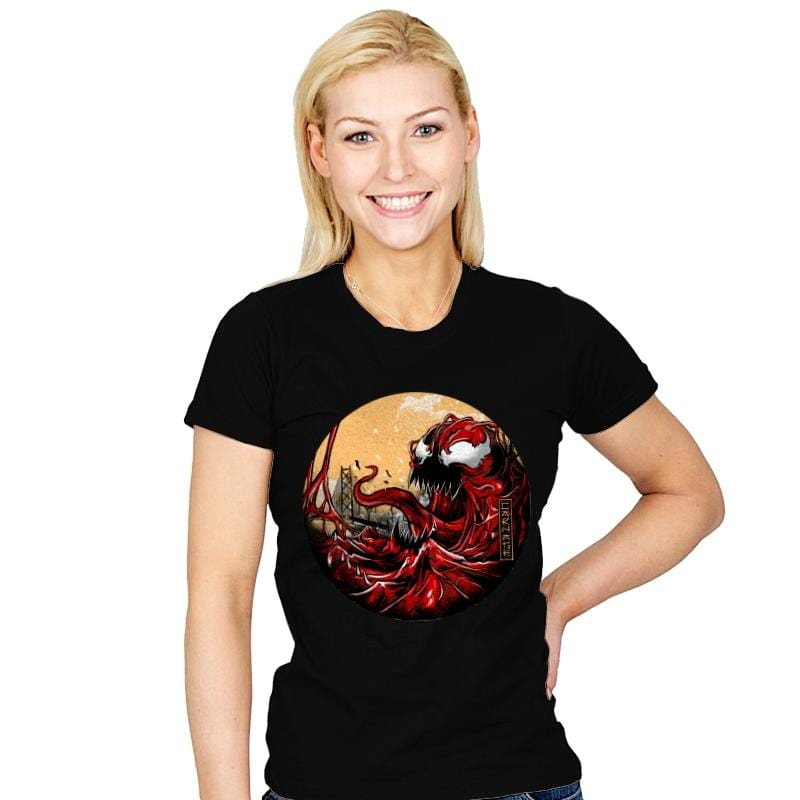 THE GREAT CARNAGE - Womens - T-Shirts - RIPT Apparel