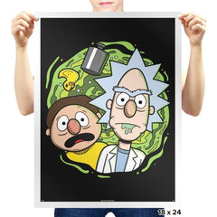 Brick and Mernie Exclusive - Prints - Posters - RIPT Apparel