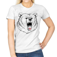 Universal Language Bear Love - Womens - T-Shirts - RIPT Apparel