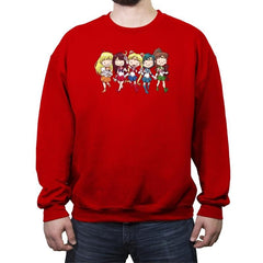 Sailor BFFs - Crew Neck Sweatshirt - Crew Neck Sweatshirt - RIPT Apparel