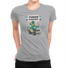 Pow-Pow-Power Exclusive - Womens Premium - T-Shirts - RIPT Apparel