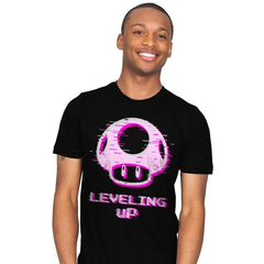 Leveling up - Mens - T-Shirts - RIPT Apparel