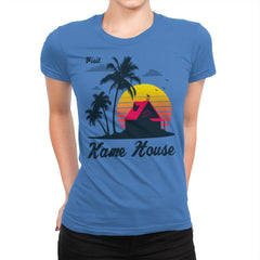 Visit Kame-House - Womens Premium - T-Shirts - RIPT Apparel