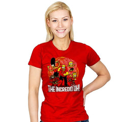 The Incredid'oh! - Womens - T-Shirts - RIPT Apparel