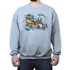 Spirited Friends - Crew Neck Sweatshirt - Crew Neck Sweatshirt - RIPT Apparel