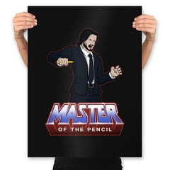 Master Of The Pencil - Prints - Posters - RIPT Apparel