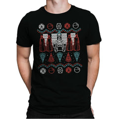 A Dark Mind - Ugly Holiday - Mens Premium - T-Shirts - RIPT Apparel