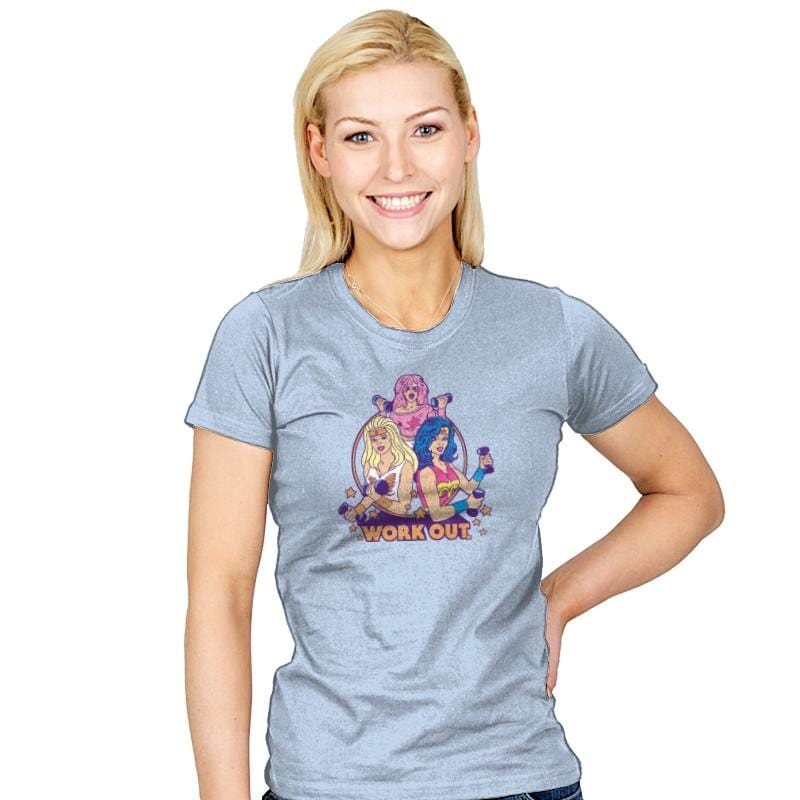 Work Out - Womens - T-Shirts - RIPT Apparel