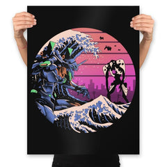 Retro Wave EVA - Prints - Posters - RIPT Apparel