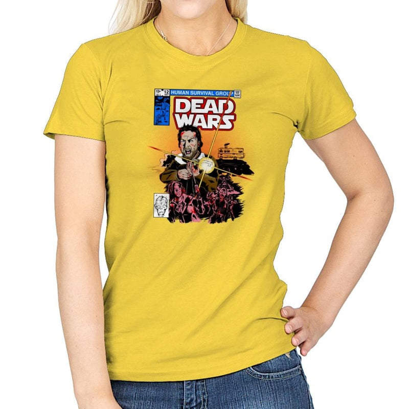 Dead Wars Exclusive - Womens - T-Shirts - RIPT Apparel