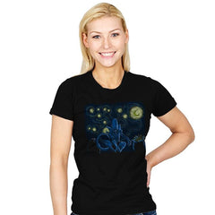 Starry Xenomorph - Womens - T-Shirts - RIPT Apparel