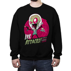 Irk Attacks! - Crew Neck Sweatshirt - Crew Neck Sweatshirt - RIPT Apparel