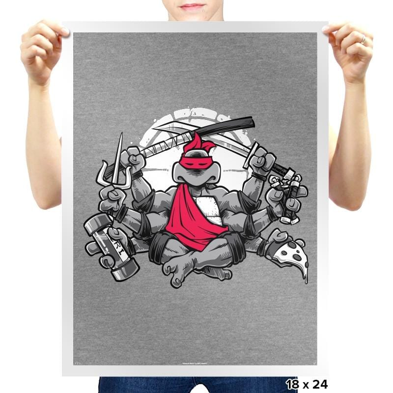 Turtles All The Way Down Exclusive - Prints - Posters - RIPT Apparel