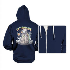 Dalek Cat - Hoodies - Hoodies - RIPT Apparel