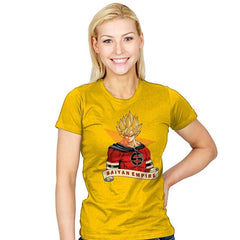 SAIYAN EMPIRE - Womens - T-Shirts - RIPT Apparel