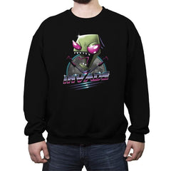 Invade! - Crew Neck Sweatshirt - Crew Neck Sweatshirt - RIPT Apparel