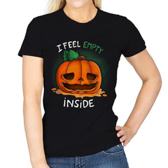 I Feel Empty Inside - Womens - T-Shirts - RIPT Apparel