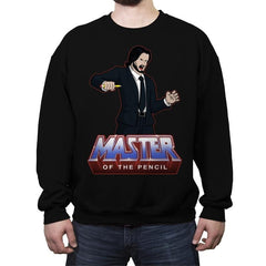 Master Of The Pencil - Crew Neck Sweatshirt - Crew Neck Sweatshirt - RIPT Apparel
