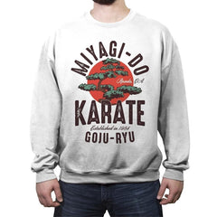 Miyago-Do Karate - Crew Neck Sweatshirt - Crew Neck Sweatshirt - RIPT Apparel