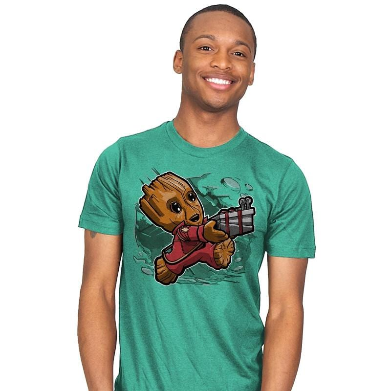 Super Tiny Guardian - Mens - T-Shirts - RIPT Apparel