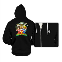 Meower Rangers - Hoodies - Hoodies - RIPT Apparel