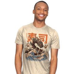 Great Sushi Dragon  - Mens - T-Shirts - RIPT Apparel