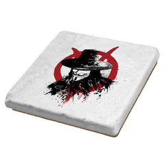 Revolution is Coming - Sumi Ink Wars - Coasters - Coasters - RIPT Apparel