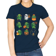 Call of Halloween - Womens - T-Shirts - RIPT Apparel