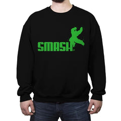 Smashuma - Crew Neck Sweatshirt - Crew Neck Sweatshirt - RIPT Apparel