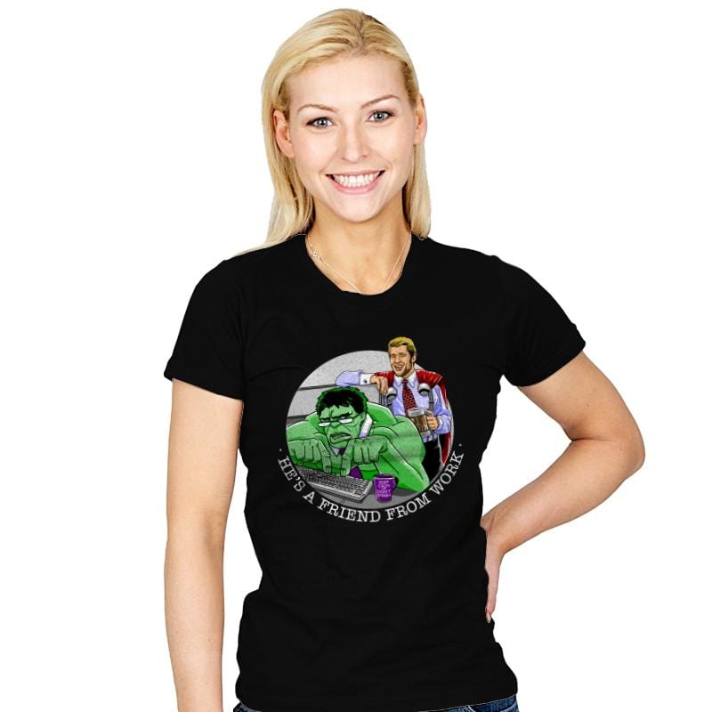 Workfriends - Womens - T-Shirts - RIPT Apparel