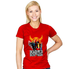 Dead Red Deception - Womens - T-Shirts - RIPT Apparel